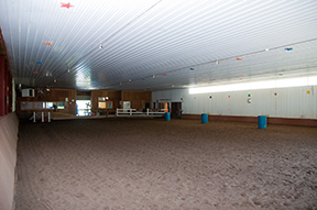 Indoor and outdoor arenas and trails: Options and adventure